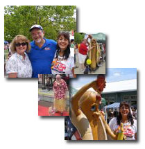 2011 WV Hot Dog Festival Collage